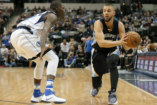 Chandler Parsons out indefinitely for Memphis, likely done for the season due to torn meniscus