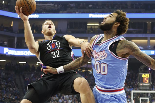Clippers almost blow 26-point lead but recover in time to hand Kings fourth straight loss