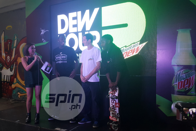 Top amateur skateboarders from Manila, Laguna, Cebu, Davao face off in Dew Tour AM Series finals