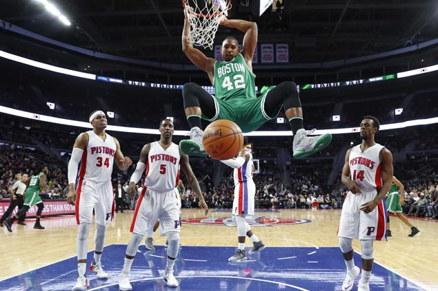 Al Horford returns from nine-game injury layoff to lift Celtics over Pistons