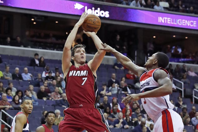 Heat score first back-to-back wins of season, beat Wizards in battle of strugglers