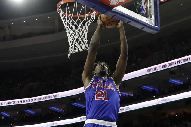 Joel Embiid scores career-high 26 as Sixers cruise past Suns