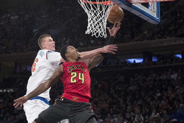 Knicks coach Hornacek hoping to arrange Porzingis workout with 'play-alike' Nowitzki