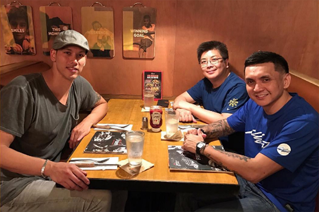 Jimmy Alapag glad to see former Korean foe Lee Seung Jun playing for PH side this time
