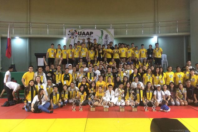 UST judokas score historic sweep in UAAP Season 79 judo competitions
