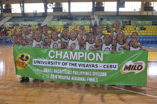 UV wins SBP Crown, Tay Tung brings home Passerelle title in Milo Visayas Regionals