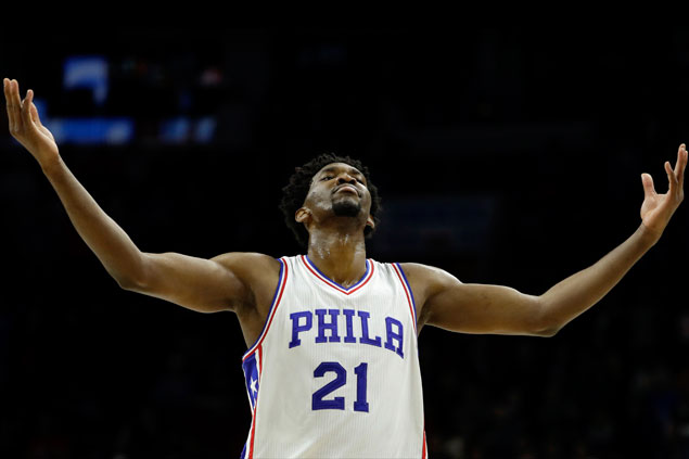 Covington, Embiid steady in endgame as Sixers douse Heat for first back-to-back wins of season