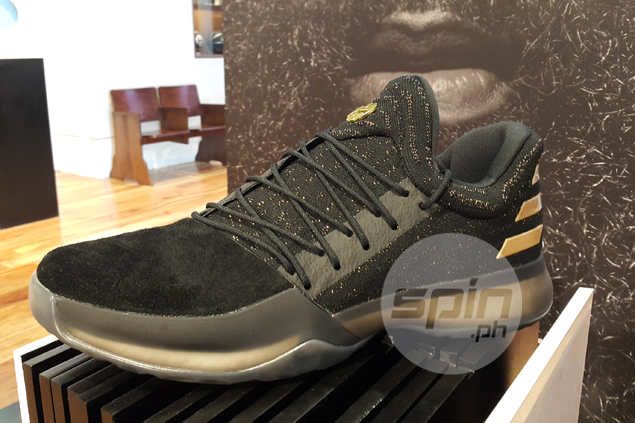 Changing of the guard as James Harden's first signature shoe launched in PH