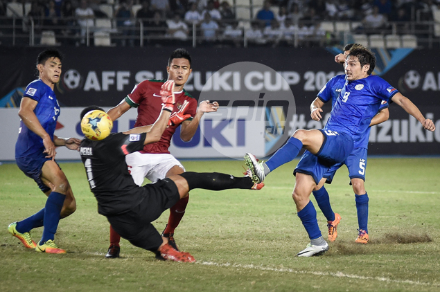 Azkals salvage draw against Indonesia to keep Suzuki Cup semis hopes alive