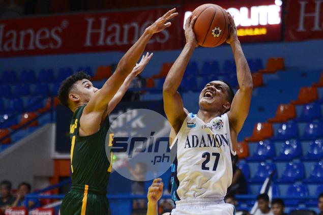 Adamson's Encho Serrano leads MVP race midway through UAAP juniors tournament