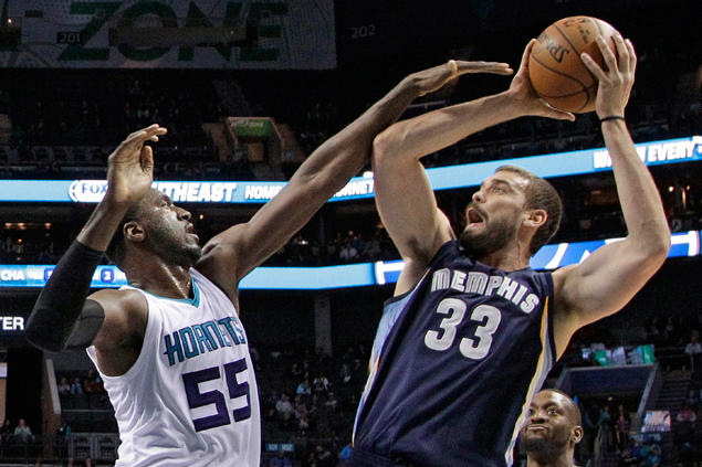Grizzlies score fifth consecutive victory and deal Hornets second straight loss