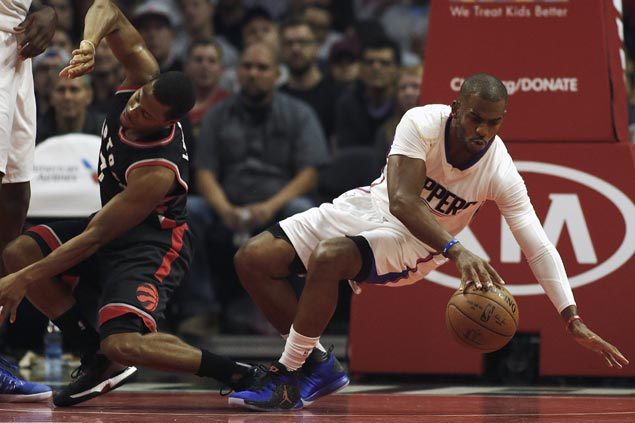NBA-best Clippers douse fiery Raptors rally from 17 points down to extend win run to three