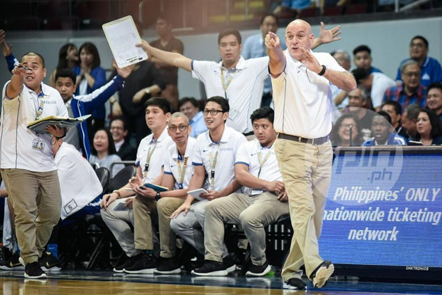Tab Baldwin plays down role as rebuilding Ateneo turns into unlikely title contender