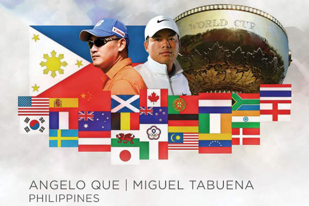 Miguel Tabuena, Angelo Que team up in World Cup of Golf in Melbourne