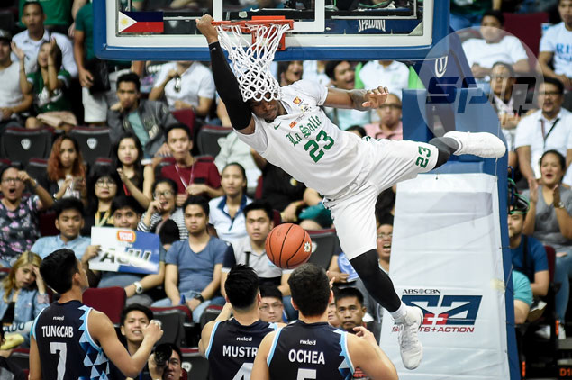 La Salle overcomes turnovers, hard-fighting Adamson to reach UAAP finals