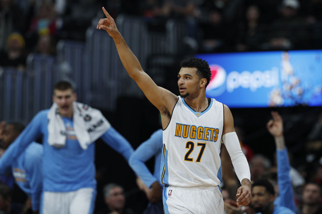 Jamal Murray scores career-high 24 points as Nuggets beat Bulls