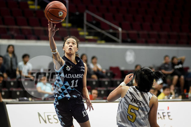 Adamson Lady Falcons beat UST Tigresses in playoff for last spot in UAAP women's basketball semis