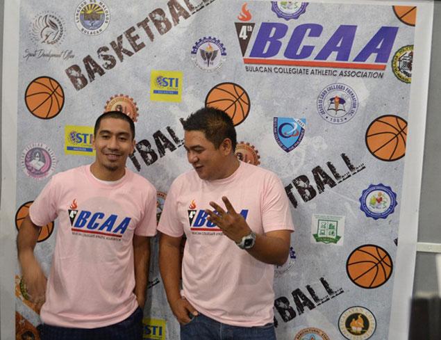 LA Tenorio inspires athletes during 4th Bulacan Collegiate Athletic Association opening