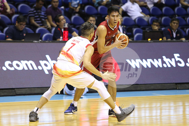 Rookie jitters, lack of sleep can't keep Mac Belo from doing well in PBA bow