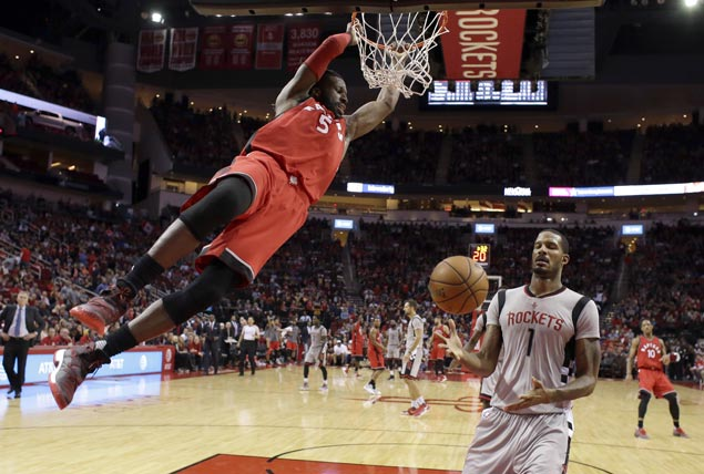 Raptors take control early and hold off Rockets to arrest two-game slide