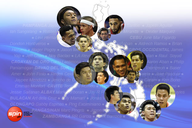 Active PBA players' roots reinforce Pampanga, Cebu status as top basketball hotbeds