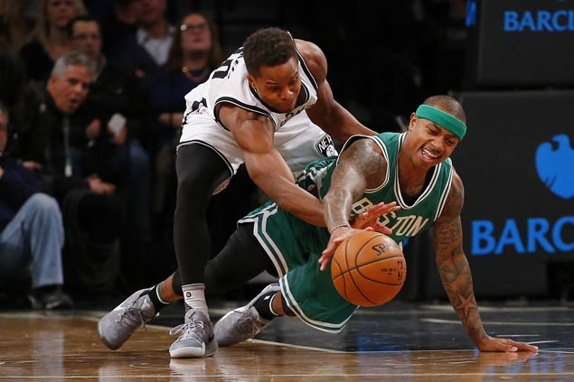Streaking Boston Celtics gun down slumping Brooklyn Nets to stretch win run to three