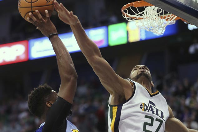 George Hill return, Rudy Gobert double-double boost Jazz over Nuggets