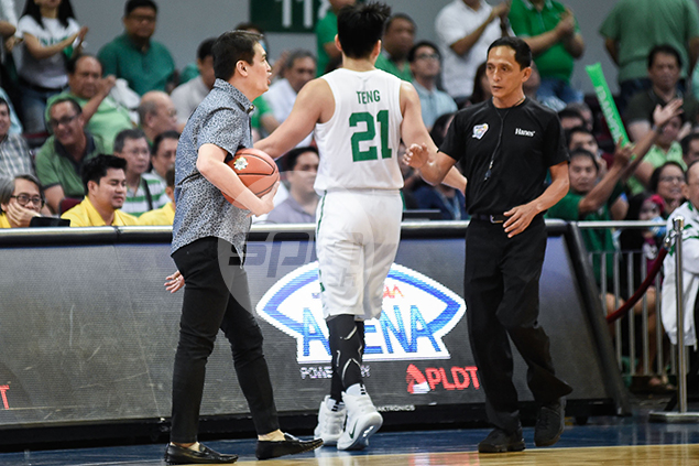 Franz Pumaren still livid after being slapped technical 'for picking up the ball'