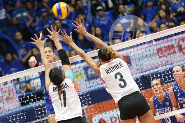 Foton tops elims after beating Petron in battle of Super Liga leaders