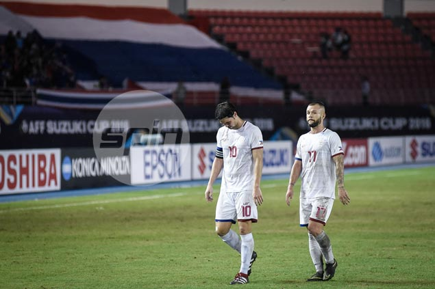 Phil Younghusband admits defense of Thailand 'Team B' still tough to crack