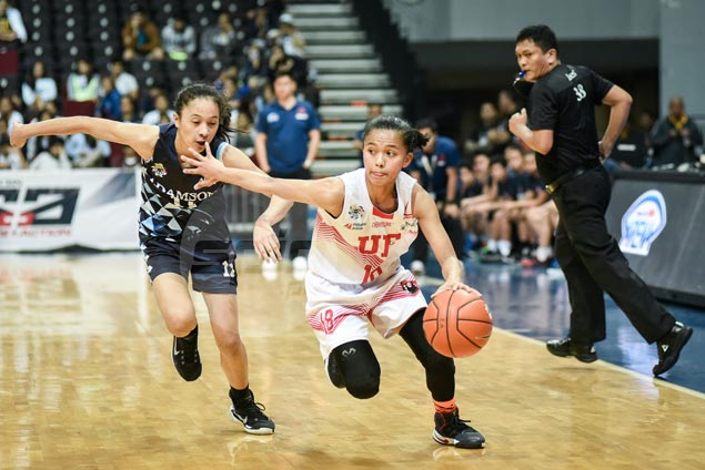 UE Lady Warriors beat Adamson Lady Falcons to advance in UAAP women's basketball stepladder