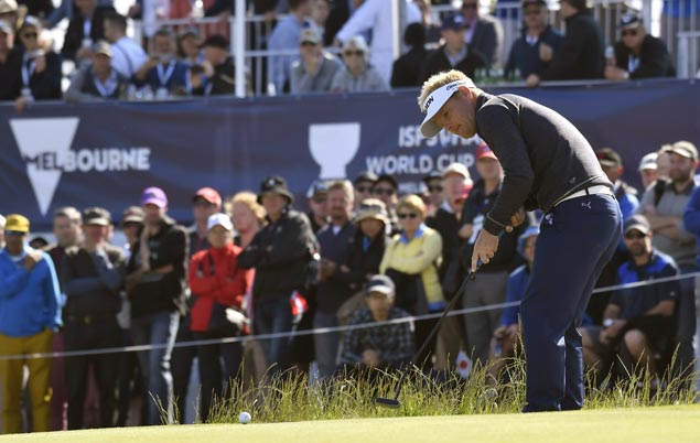 Danes extend lead to four as Filipinos slip in World Cup of Golf