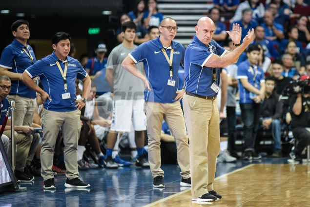 Baldwin laments Ateneo's lack of composure, inability to hit treys against FEU zone