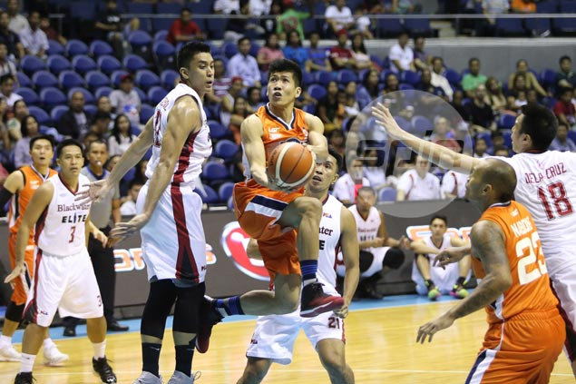 Ed Daquioag not surprised to get defensive assignment on fellow rookie Belo