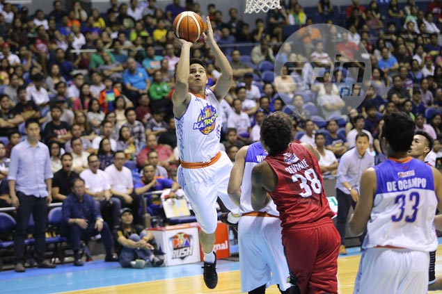 TNT rookie Roger Pogoy plays with the poise of a veteran in baptism of fire