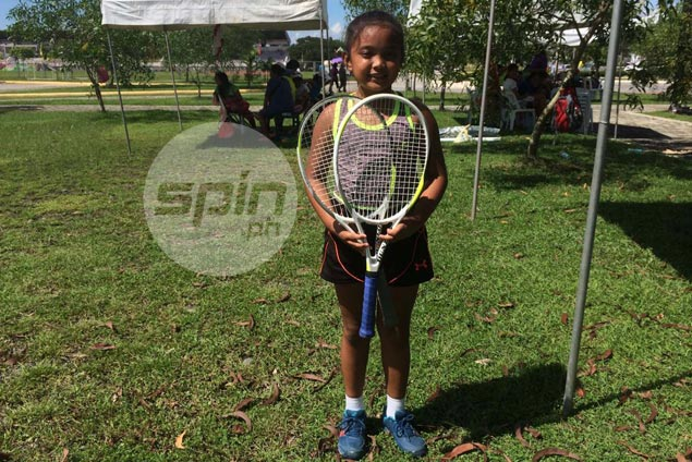 Tenniel Madis, 9, unafraid to punch above her weight in pursuit of tennis dream