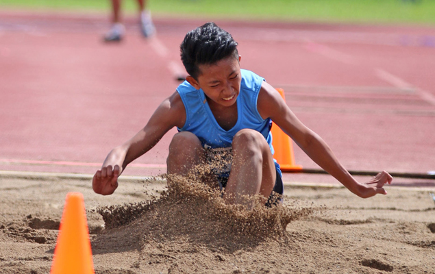 Negrense teen long jumper Trexie Dela Torre sees sports as way out of poverty
