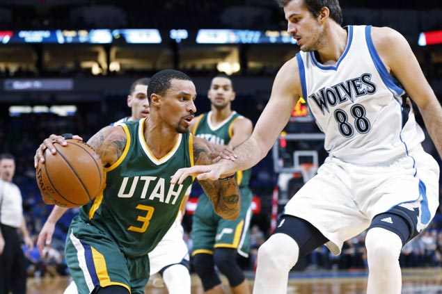 Utah leans on league-best defense to turn back Minnesota and win third in a row