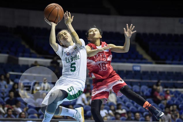 La Salle Lady Archers advance to UAAP women's basketball finals against NU Lady Bulldogs