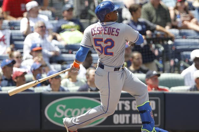 Yoenis Cespedes agrees to US$110M, four-year contract with Mets, according to source
