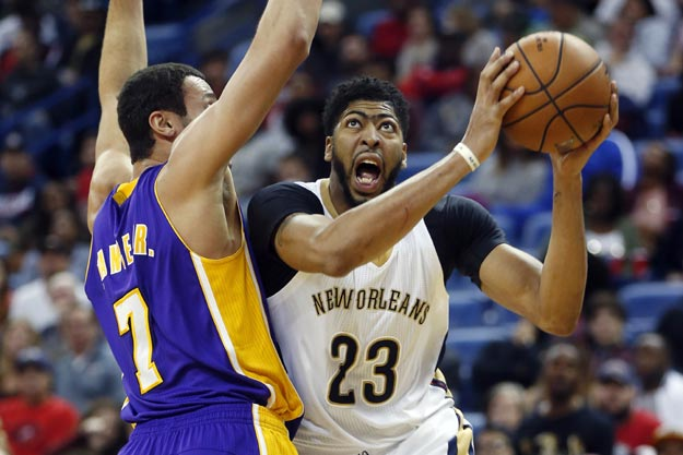 Anthony Davis explodes for 41 points as Pelicans manhandle Lakers to snap two-game skid