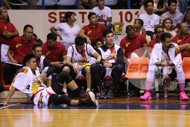 Patience a virtue as rookie Arnold Van Opstal awaits chance at San Miguel