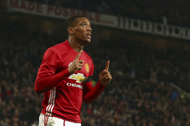 Overlooked forwards Mkhitaryan, Martial show worth as United gains League Cup semis