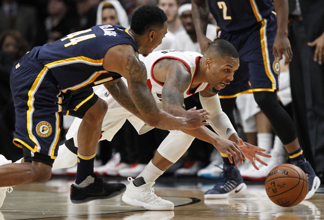 Trail Blazers get off to strong start and cruise to victory over Pacers