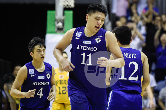Isaac Go transforms from 'big, fat kid' into Ateneo pillar before Baldwin's very eyes