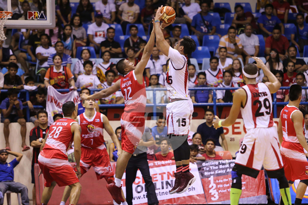 Prince Caperal passes ultimate test against Fajardo with flying colors