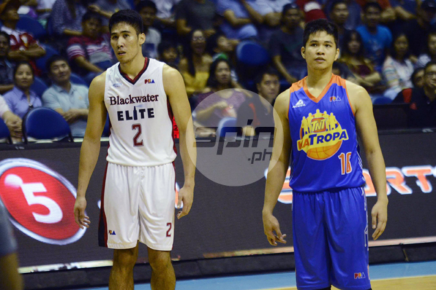 It will take a while for Mac Belo to get used to seeing Racela on opposing side