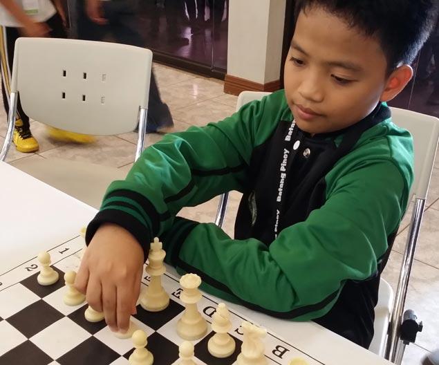 Cavite's golden boy Daniel Quizon, 12, dreams of becoming a grandmaster