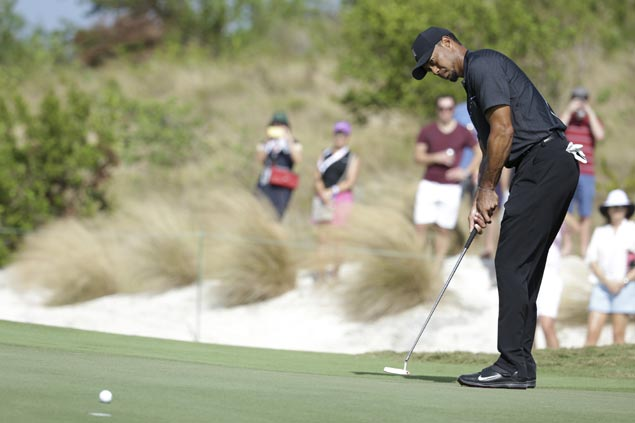 Tiger Woods falters after hot start, settles for 73 in return at Hero World Challenge