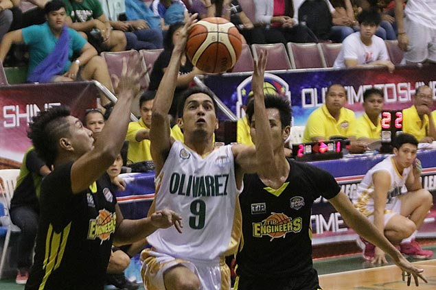 Olivarez Sea Lions complete upset of twice-to-beat TIP Engineers to set up title showdown with CEU Scorpions
